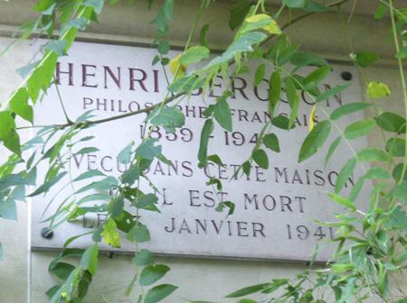 Henri Bergson Schild
