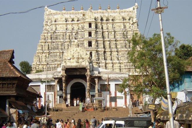 Sree-Padmanabhaswamy-Tempel
