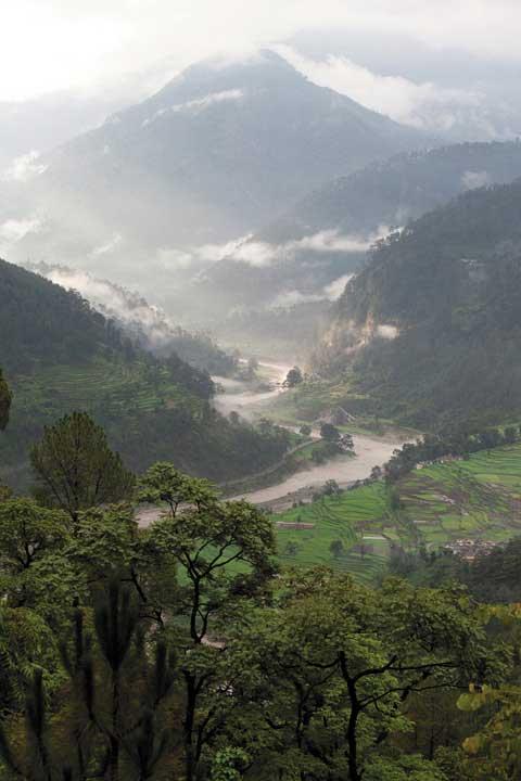 Yoga-Ausbildung im Hochland des Himalaya