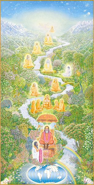 Die Vedische Tradition der heiligen Meister