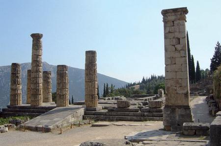 Tempels von Apollon