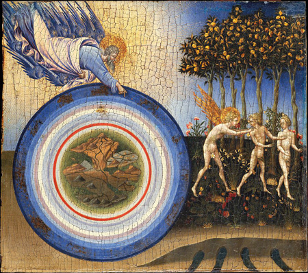 Giovanni di Paolo: Vertreibung aus dem Paradies (1445)