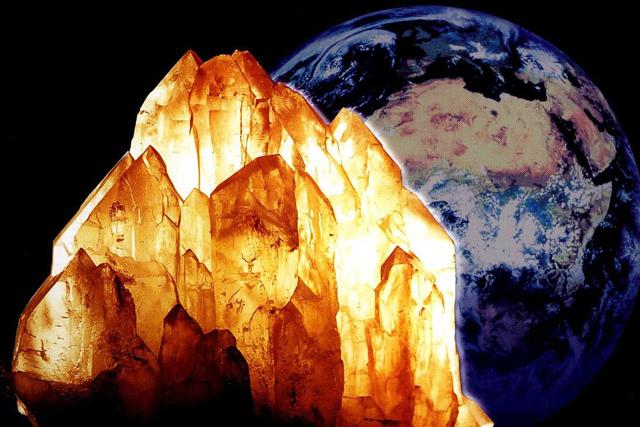 Die Vision der Erdenhüterkristalle
