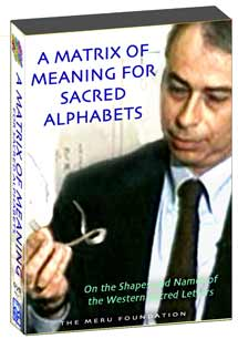 A Matrix of Meaning for Sacred Alphabets