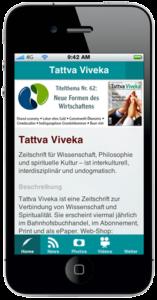 Tattva Viveka auf dem Smartphone