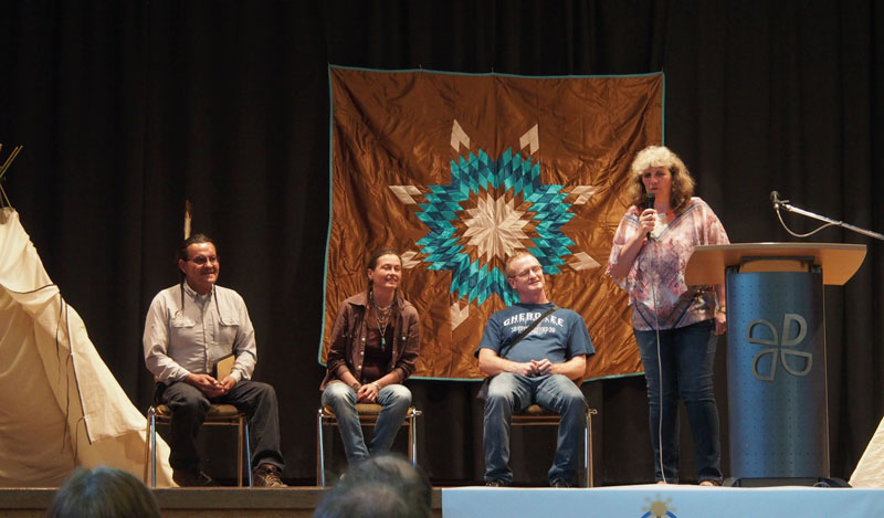 Henry Red Cloud auf Deutschlandtour