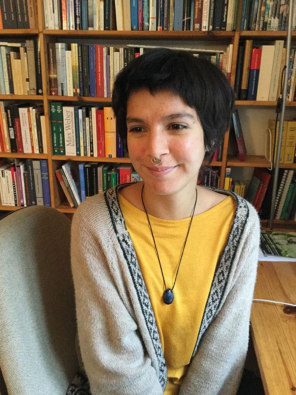 Die Autorin Alice Deubzer