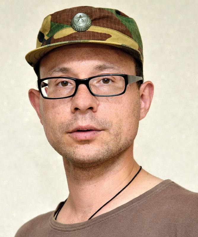 Der Autor Alexandre Sladkevich