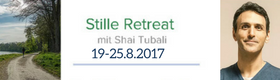Shai Tubali – Stille Retreat