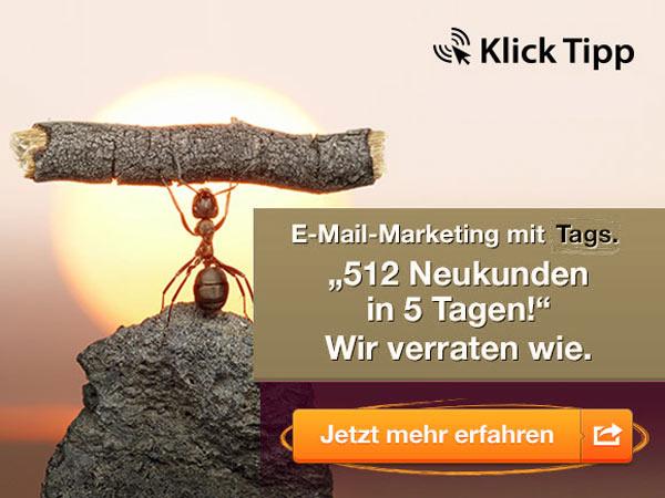 Seriöses E-Mail-Marketing mit Klick-Tipp