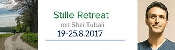 Shai Tubali – Stille Retreat