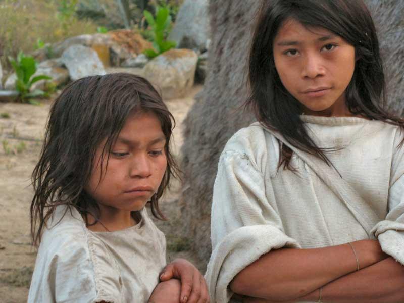 Die Kogi-Indianer