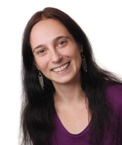 Die Autorin Bharati Corinna Glanert