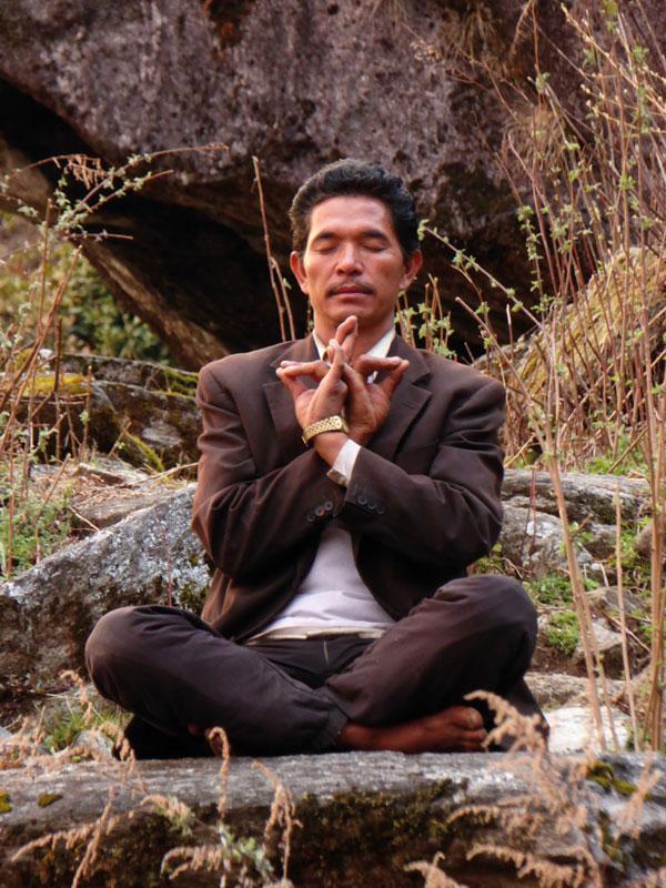 Jhankri Danakatshi Tamang Mudra Meditation, Nepal
