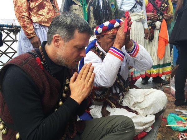 Einweihungs- und Segnungsritual Kali Shrine Kalinchok 4000m, Nepal