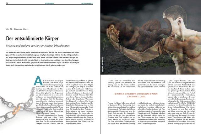 Der komplette Artikel von Dr. Dr. Klaus von Ploetz als PDF zum Download