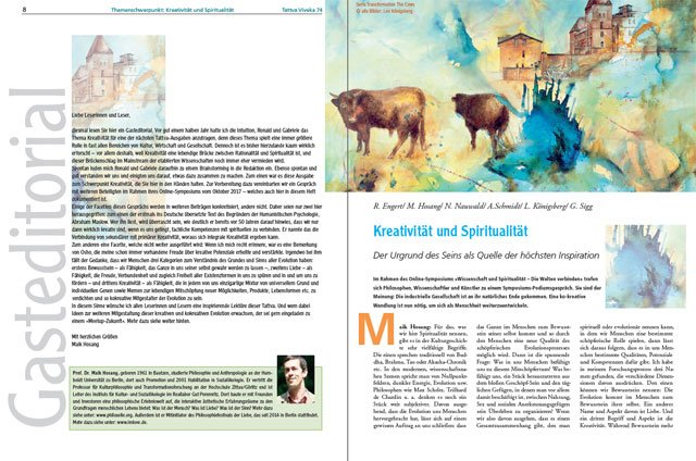 Kreativität und Spiritualität