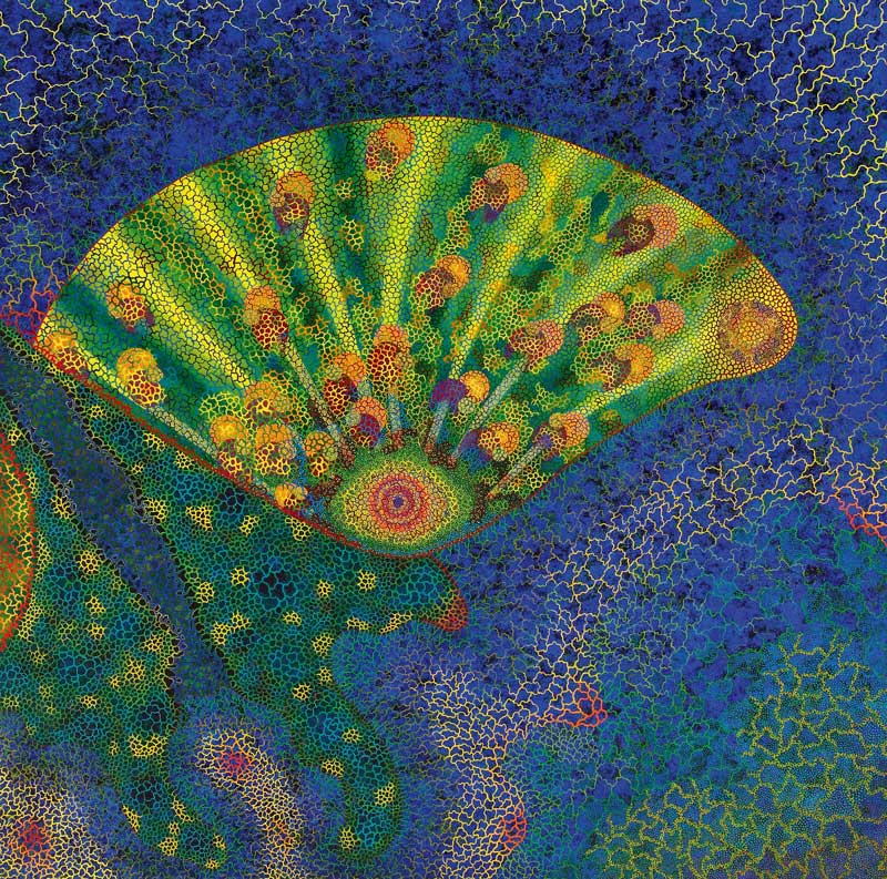 Kunst von Nana Nauwald: Song of Green