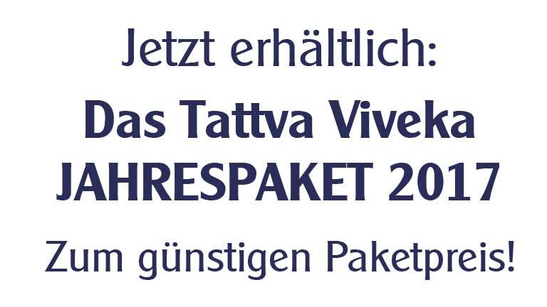 Tattva Viveka 2017 Jahrgangspaket