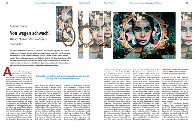 Susanne Lohrey - Der komplette Artikel als PDF