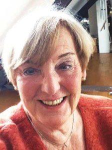 Die Autorin Brigitte Halewitsch