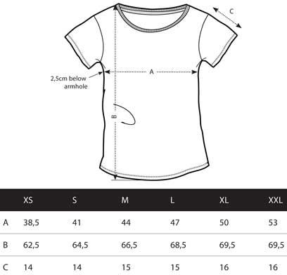 As G-Shirt für Frauen