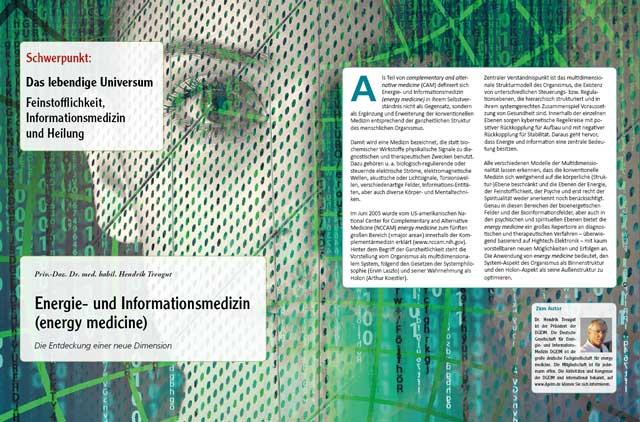 Dr. med. habil. Hendrik Treugut - Der komplette Artikel als PDF