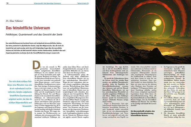 Dr. Klaus Volkamer - Der komplette Artikel als PDF