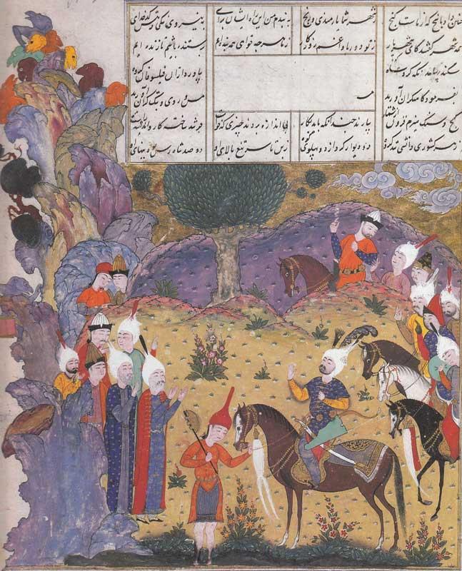 Iskander unterwegs im Alam-al-Mithal