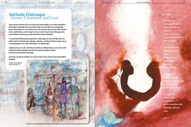 Spirituelle Erfahrungen der Leserinnen und Leser - Artikel als PDF