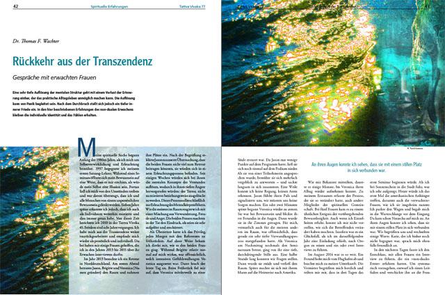 Dr. Thomas F. Wachter - Der komplette Artikel als PDF