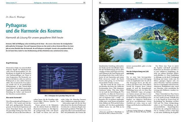 Dr. Hans G. Weidinger - Der komplette Artikel als PDF