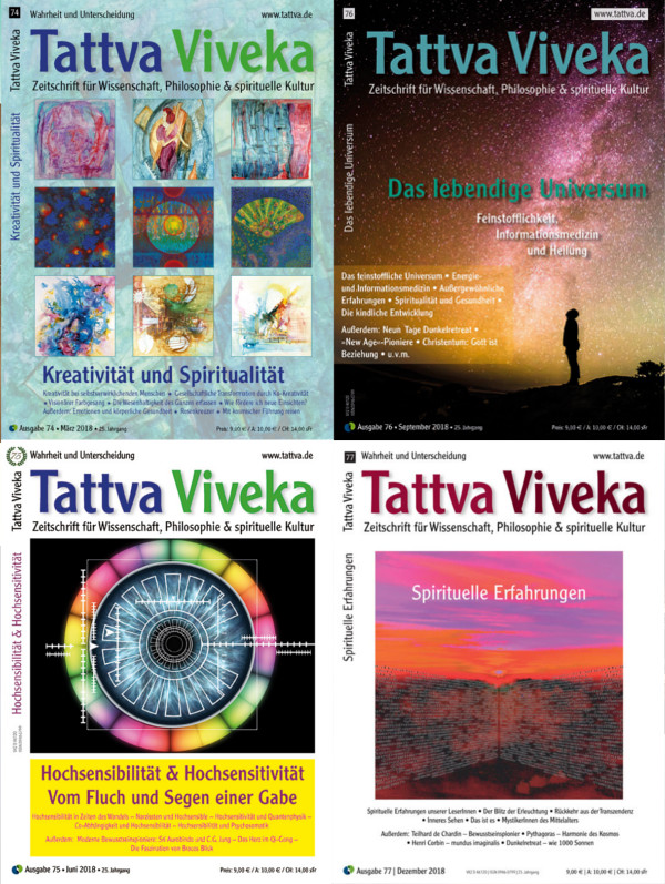 Tattva Viveka 2018 Jahrgangspaket