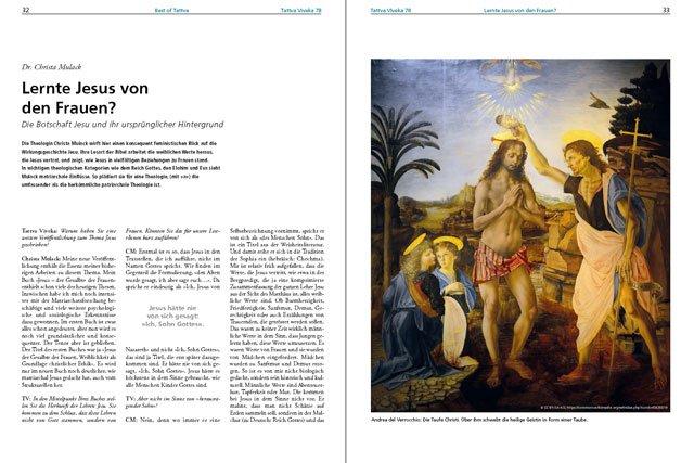 Dr. Christa Mulack – Der komplette Artikel als PDF