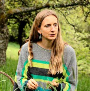 Die Autorin Sarah Moritz