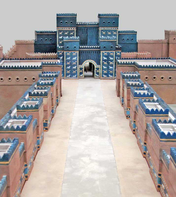 rozessions- und Einweihungsweg zum Ištar-Tor von Babylon