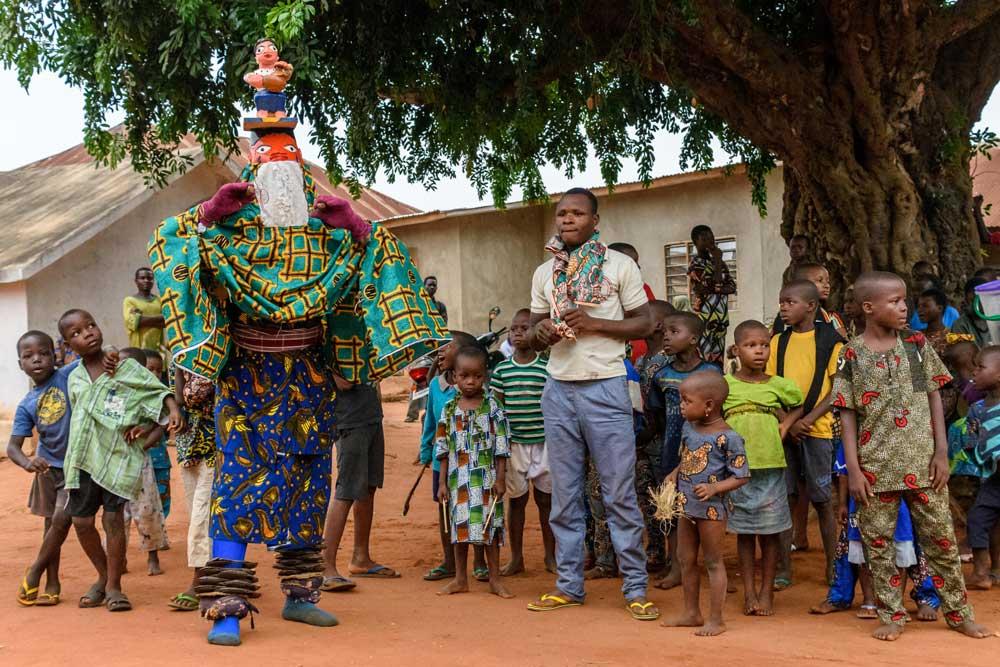 Yoruba-Tänzer, © Photograph: Luciano Napolitano, www.besttravelreview.com