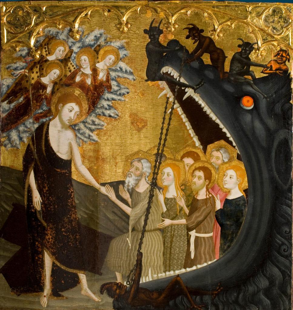 Jaume Serra, Aufstieg Christi aus der Unterwelt