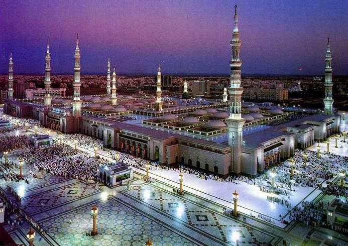 Die Moschee in Medina