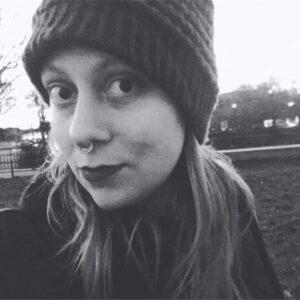 Schwarz-Weiß-Porträt von Nicole