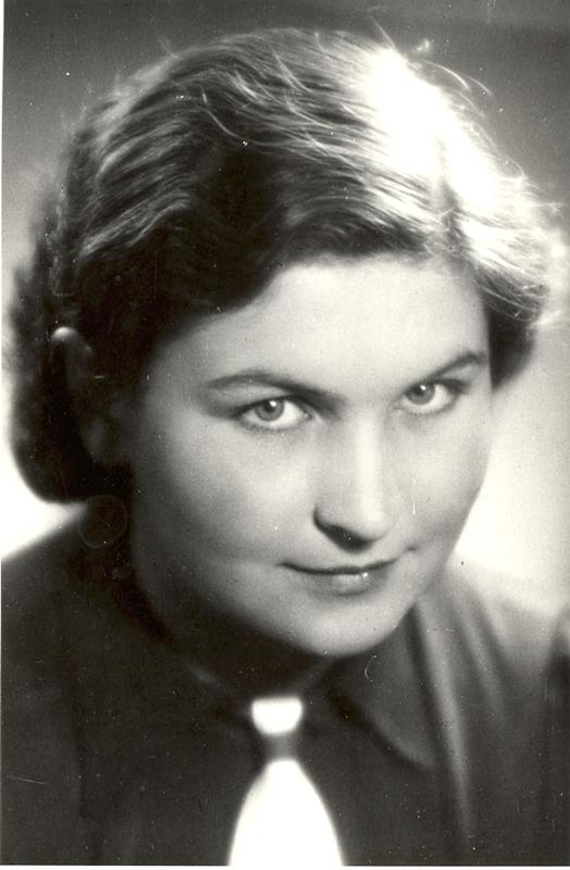 Marija Gimbutienėzur Zeit des prähistorischen Seminars der Universität Tübingen, 1946