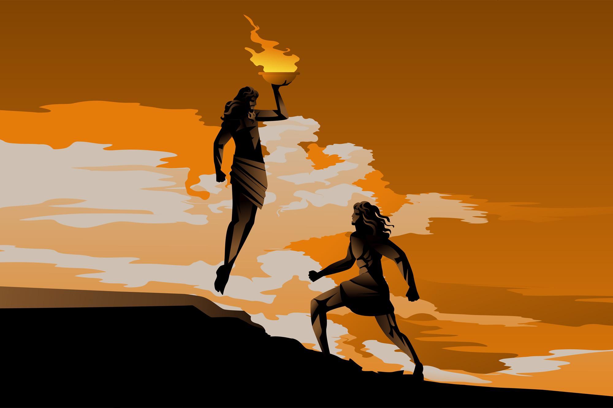 Prometheus als zweifelhafter Held der Silicon-Valley-Elite
