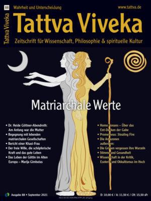 Das Cover der Tattva Viveka 88